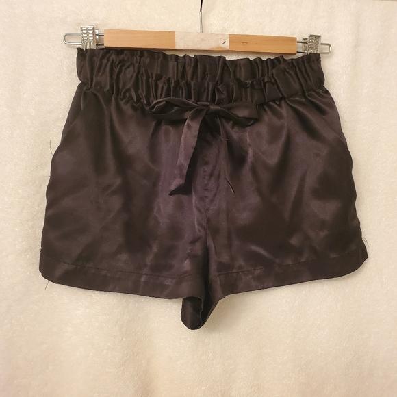 Satin silky shorts